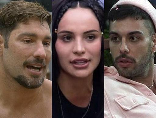 A Fazenda: Victor, Aline e Gui Araújo estão na roça! Quem deve ficar?